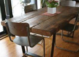 Rustic Dining Room Table Rustic Dining Room Tables Wingback On Wooden Floor Ideas Square
