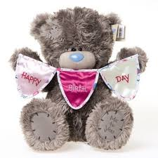 me to you 12 tatty teddy collectors plush bear holding happy