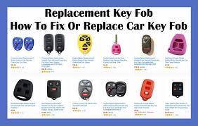 how to fix replace u0026 program car key fob replacement key fob