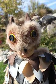 Snowy Owl Halloween Costume by Olive And Love Simple Owl Costume Tutorial Happy Owloween