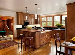 Country Kitchens With Islands Country Kitchen With Pendant Light By Gustave Carlson Design