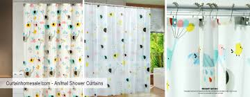 Animal Shower Curtains Shower Curtains
