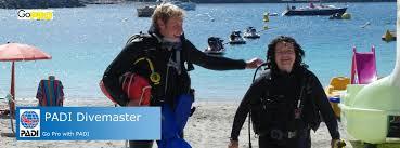 Padi Flag Padi Divemaster Scubasur Scuba Diving Gran Canaria