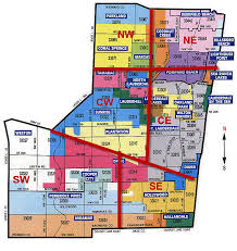 map of ft lauderdale ft lauderdale zip code map zip code map