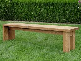 lawn u0026 garden simple antique plywood back less garden bench on