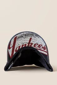 new york yankees distressed baseball cap francesca u0027s