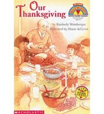 mfhr our thanksgiving by weinberger scholastic