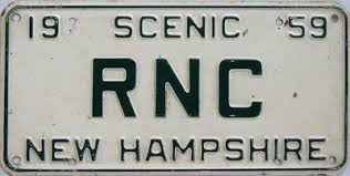 New Hampshire Vanity Plate New Hampshire License Plates For Sale Tag Dr