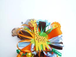 amazon com safari jungle book themed baby shower birthday corsage