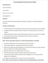 Supervisor Resume Sample Free by Sales Resume Template U2013 41 Free Samples Examples Format