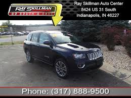 jeep compass 2014 pre owned 2014 jeep compass limited suv in indianapolis g944