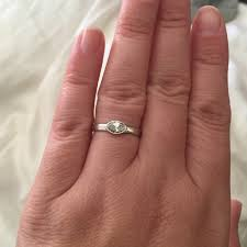 wedding band that will go with my east west oval e ring show me your marquise e rings weddingbee
