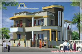 Kerala Home Design Floor Plan And Elevation by Duplex House Elevation Kerala Home Design Floor Plans Designs In