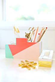 Desk Organizer Diy Diy Back To School Desk Organizer Lovely Indeed