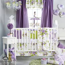 Purple Nursery Bedding Sets I Absolutely This Set Wish It Wasn T So Expensive Baby