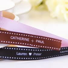 personalized wedding ribbon personalized satin dots ribbon wedding ribbons satin and