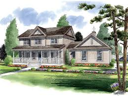 traditional farmhouse plans country house plans two country home plan design 047h