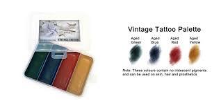 vintage tattoo palette u2014 bluebird fx