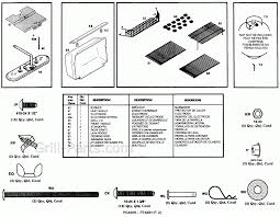 Patio Master Grill by Patio Master Pg430h Gas Bbq Grill Parts Free Ship