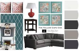 the yellow cape cod big emtpy walls two simple solutions