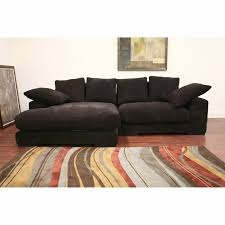 buy lutz small spaces configurable sofa sectional color brown