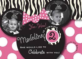 template exquisite mickey and minnie mouse photo birthday