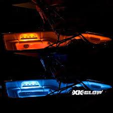 pontoon boat led light kits amazon com 4pc 36 4pc 10 strips boat marine interior accent