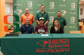 College Baseball Letter Of Intent by Hcisd Hawk Athlete Signs To Play College Baseball