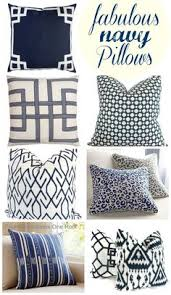 Navy Blue Decorative Pillows Navy And White Pillow Cover Navy Blue Throw Pillow Cover Navy