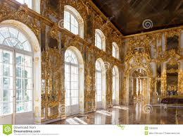 ornate interior of the catherine palace stock photo image 51679312