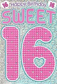 free printable sweet 16 birthday greeting card birthday cards