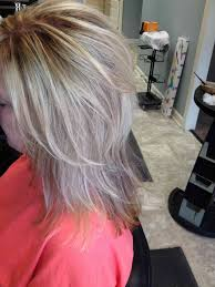 grey hair highlights and lowlights textured ideas long hairstyles simple stylish haircut