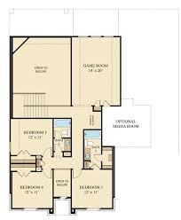 Game Room Floor Plans Sierra Mesa New Home Plan In Walnut Creek Camden And Vista