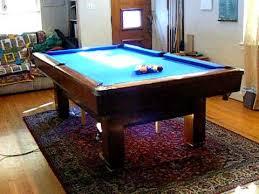 Sportscraft Pool Table Under My Pool Table Youtube