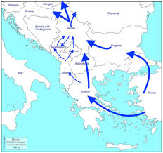 Italy Greece Map by The Aftermath Of An Exodus The Balkans U0027 Old Smuggling Routes And