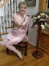 pink brocade wedding luxury modeled by women over 45