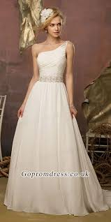 wedding dress the shoulder best 25 one shoulder wedding dress ideas on one