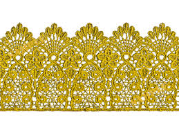 gold lace ribbon second marketplace baked 14 high quality seamless