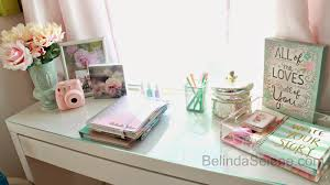 Desk Decor by Belindaselene Diy Inspired Office Desk Space