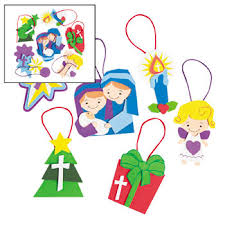 religious ornament crafts for sunday