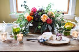 How To Design An Office Thanksgiving Day Silk Floral Designs Centerpieces At Petals Fugi