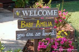 Baby Boy Welcome Home Decorations by Baby Yard Sign Baby Shower Sign Decorations Its A Boy Sign