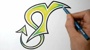 how to draw wild graffiti letters t youtube