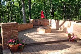 Firepit Blocks Fireplaces Brick Ovens Pits Frederick Block Brick