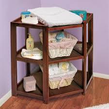 Changing Table Basket Badger Basket Cherry Corner Changing Table Free Shipping