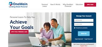 onemain personal loan reviews recommended for poor credit