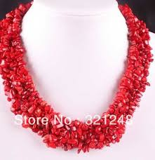 necklace making charms images Classical natural red coral chips 4x8mm charms irregular semi jpg