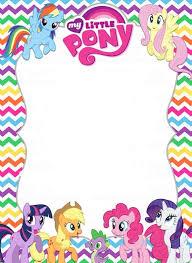 my pony invitations my pony invitations