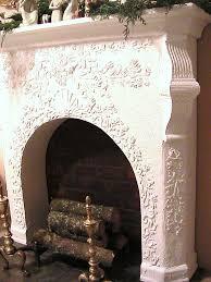 Faux Limestone Fireplace - 174 best decor mantels images on pinterest faux mantle