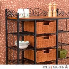 Bakers Racks With Drawers Holly U0026 Martin Rancho 5 Drawer Baker U0027s Rack 59 199 006 5 01